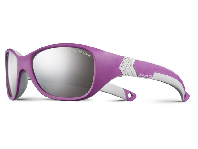 Julbo Kids 4-6Y Solan Spectron 4 Sunglasses Pink/Gray-Gray Flash Silver